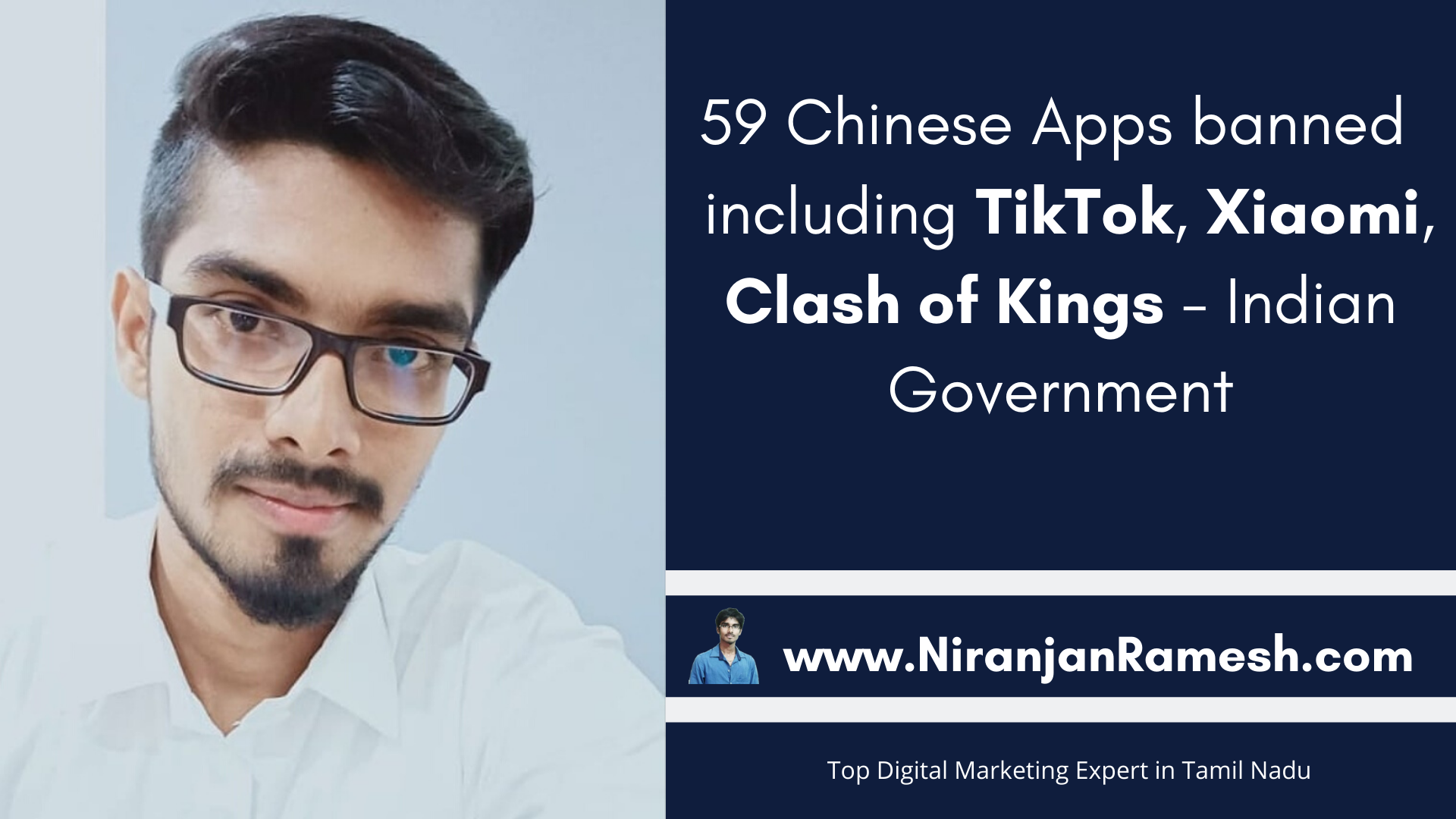 59 Chinese Apps banned including TikTok, Xiaomi, Clash of Kings – Indian Government