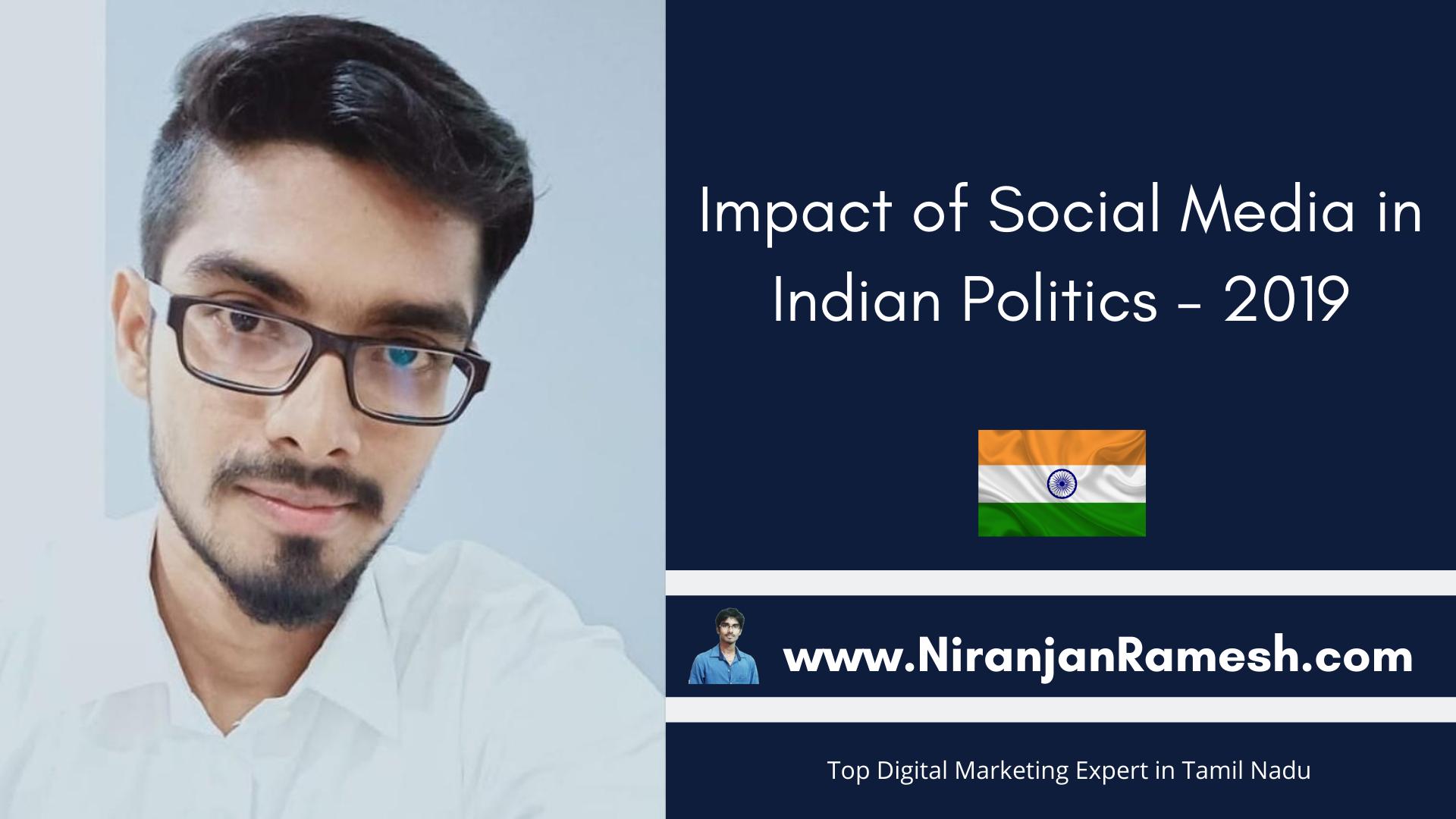 Impact of Social Media in Indian Politics – 2019